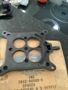 1968 1969 428 429 Ford Carburator Spacer Nice Used C8az 9a589 E