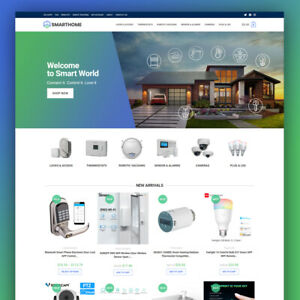 Smart Home Dropshipping Store Ready made Website Turnkey Business For Sale