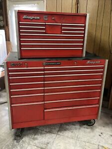 Snap On Kr 1000 And Kr 550 Bundle Deal With Drawer Toolkeys 53 Box And Chest