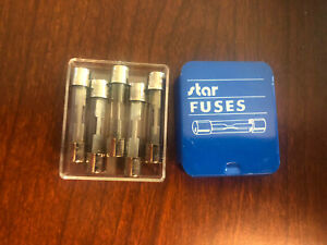 Star 20 Amp Glass Buss Fuse 5 Pack New