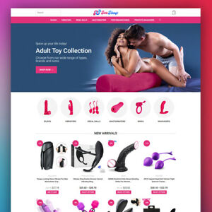 Adult Shop Turnkey Dropshipping Website Ready To Go Business For Sale