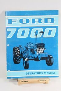 Ford 7000 Tractor Operator s Manual