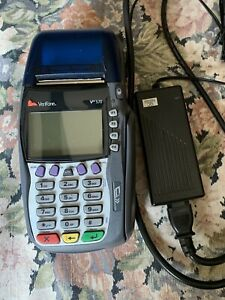 Verifone Omni 3750 Vx570 Credit Card Terminal With Power Supply