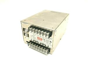 Mean Well Sp 500 24 Ac dc Enclosed Power Supply 100 240vac