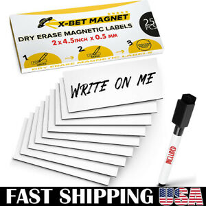 Magnetic Labels Dry Erase For Metal Shelving Whiteboards Magnetic Strips