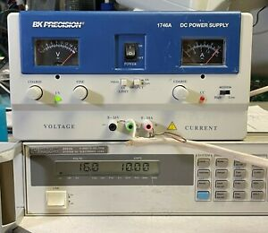 Bk Precision 1746a 16v 10a Variable Dc Power Supply Load Tested