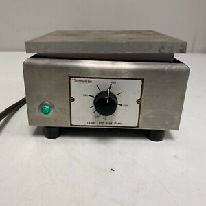 Thermolyne Hot Plate Model Hp a1915b Type 1900 115v Ac 700w Vintage Tested 2