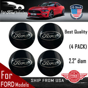 4 Pack For Ford Wheel Center Hub Cap Sticker Decal Dome Shape 2 20 Shape Us