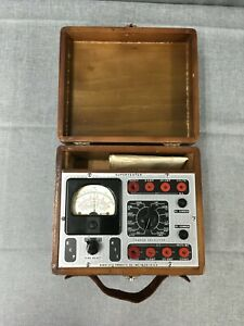 rare 1920s 40s Radio City Products Super Tester Volt Ohm Meter Untested