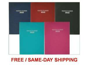 2022 Monthly Planners Appointment Calendar Agenda Organizer 10 x7 5 Fast ship