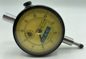 Dac St2026 Precision 0 10mm Range Dial Indicator With Vertical Lug Accuracy