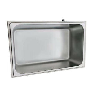 Commercial Bain marie Buffet Food Warmer Stainless Steel Steam Table 110v