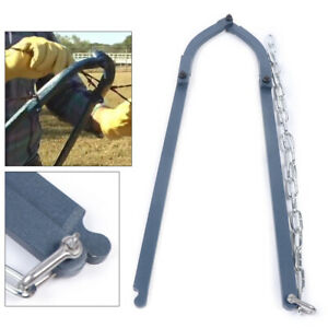 Heavy Duty Farm Fence Strainer Fencing Repair Wire Pulling Tools Chain New