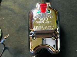 Vintage Turn Signal Switch Signal Stat 900 Sigflare Made Usa Free Shipping
