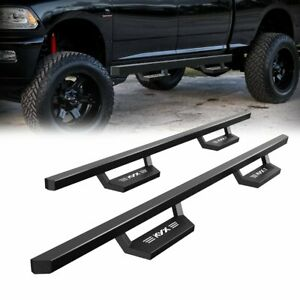 For 2007 2021 Toyota Tundra Crew Max Running Boards Nerf Bar Side Steps Kyx