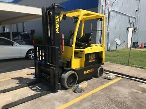 Electric Lift Truck Forklift Hyster E80xn Used In Good Conditions
