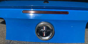 2013 2014 Ford Mustang Trunk Lid Light Blue With Spoiler
