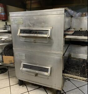 Double Pizza Oven middleby Marshall Ps200 Gas Conveyor Pizza Oven With 32 Belt