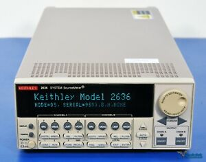 Keithley 2636 Sourcemeter Smu 2 Channel dual Channel Nist Calibrated
