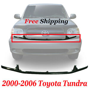 For 2000 2006 Toyota Tundra Front New Bumper Filler Retainer With Steel Cove Fits 2002 Toyota Tundra