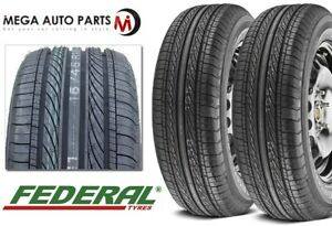 2 New Federal Formoza Fd2 23560r16 100h All Season High Performance As Tires Fits 23560r16