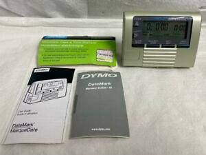 Dymo Datemark Stamp 47002 Electronic Date And Time Stamper