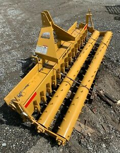 Rhino Pvb 842 86 Double Roller Pulverizer Farm Equipment Made In Usa New