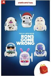 New Listingmcdonalds Rons Gone Wrong Toy Complete Set Of 6 Toys Sealed Nip