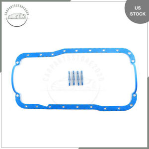 Oil Pan Gasket 85 01 For Ford Bronco Country E 250 F 250 Econoline 5 0l Ohv