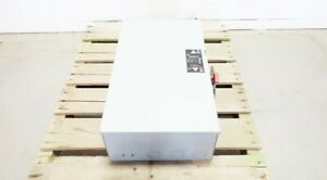 General Electric Ge Tc35324 Double Throw Safety Switch 3p 200a Amp 240v ac