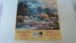New Springtime Valley By James Lee 1000 Pc Jigsaw Puzzle By Sunsout $12.00