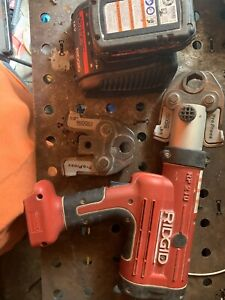 Ridgid Rp 210 Pressframe 18v Compact Press Tool Battery Need Charger Cable