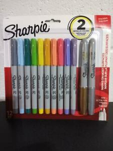 Sharpie Precision Ultra Fine Point Assorted 12 Pack bonus Offer Extra Gifts
