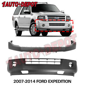 Front Upper Bumper Covers Fascias For 2007 2014 Ford Expedition