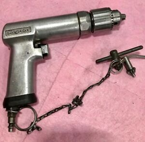 Snap On Pdr 5a 1 2 Reversible Stall Speed Air Drill W 2 Keys