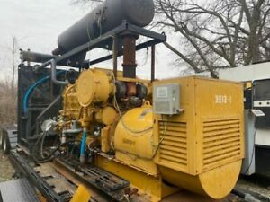 G3512 550kw Continuous Rated Ng Genset