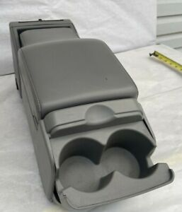 Buick Lesabre Gray 2000 2005 Front Center Console Cup Holder Armrest Street Rod
