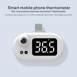 Usb Thermometer Mini Cell Phone Infrared Thermometer Type c Android Non contact