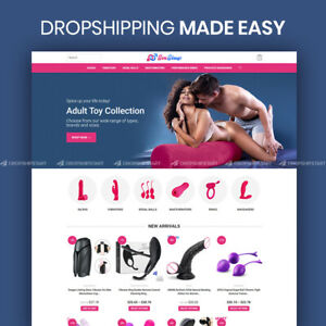 Adult Toys Dropshipping Website Turnkey Dropship Business For Sale
