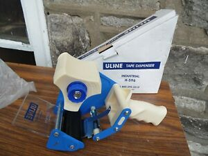 Uline H 596 3 Industrial Tape Dispenser Hand Held Packing Tape Package Shipping