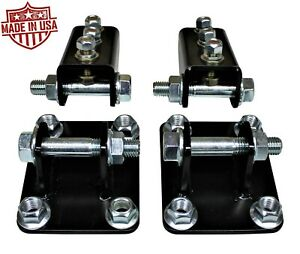 Bolt On Traction Bar Mounts For 2011 2020 Ford F250 F350 6 7l Powerstroke