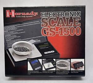 Hornady Electronic Reloading Scale GS 1500 Free Shipping $39.98