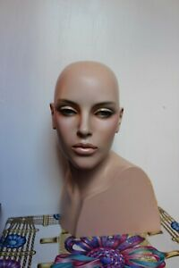 Selling My One Of A Kind Vintage Mannequin Original Makeup 16 Tall