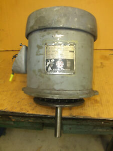 Bridgeport 1 1 2hp 3ph Spindle Drive Motor For Series I Milling Machine