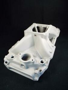 Edelbrock Bbc 454r Victor 2907 Chevy Intake Flawless Dominator Carb Looks Gnu