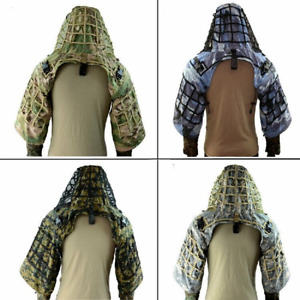 Tactical Ghillie Suit Multicam Airsoft Camouflage Hunting Sniper Ghillie Coat $59.36