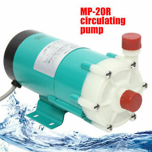 110v Industrial Mp 20r Chemical Magnetic Drive Circulating Water Pump 27l min Us