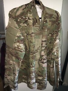 USGI MULTICAM COAT SIZE LARGE REG. WITH INSECT GUARD NEW WITH TAGS $29.99