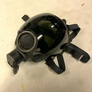 MSA Millennium CBRN Riot Control Mask Respirator w Tinted Lens Cover Size Med $145.00