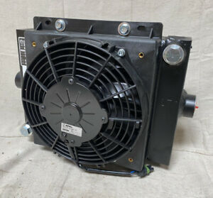Cool line D10 12 Dc Forced Air Oil Cooler 12v Dc 10 Hp Heat Removed